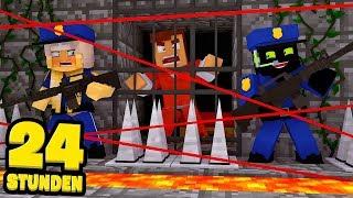 24 STUNDEN im KNAST ARBEITEN?! - Minecraft [Deutsch/HD]