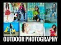 Modeling Girls Outdoor photography pose /  Stylish pose
