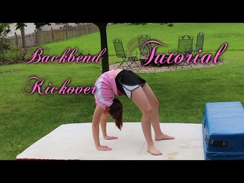 Beginner Gymnastics: Backbend Kickover Tutorial
