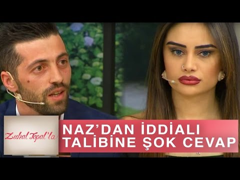 Zuhal Topal'la 176. Bölüm (HD) | Naz İddialı Talibine Verdiği Cevapla Herkesi Şaşırttı!