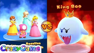 Mario Party 10 Mario Party - Peach vs Daisy vs Rosalina vs Toadette Gameplay (Mushroom Park)