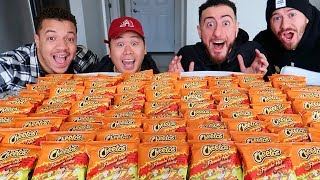 EXTREME SPICY FLAMIN HOT CHEETOS CHALLENGE!