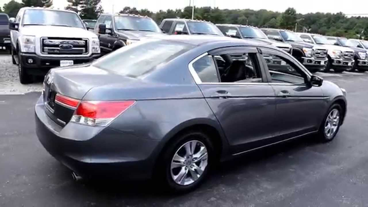 2012 Honda Accord Special Edition Walk Around Youtube