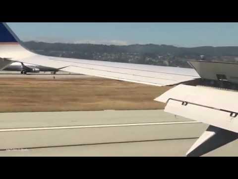 Dos aviones aterrizan al mismo tiempo en el aeropuerto de San Francisco
