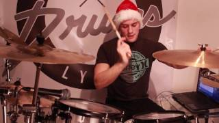Sleigh Ride - Trap Nation - Drum cover