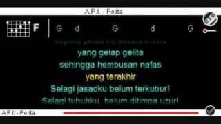 A.P.I-Pelita=Kord + Lirik