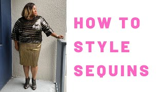 How to Style Sequins
