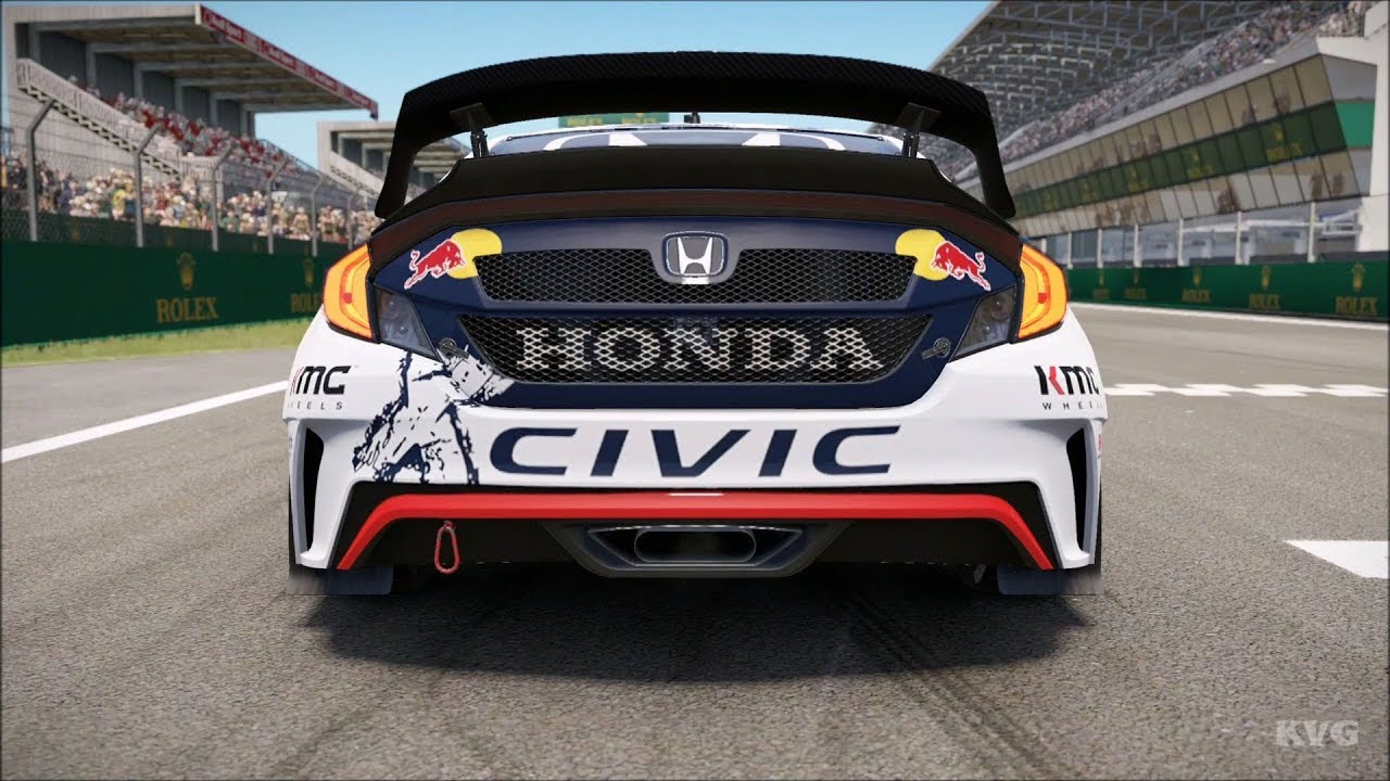 Grc Civic >> Project Cars 2 Honda Civic Coupe Grc 2016 Wrx Test Drive Gameplay Hd 1080p60fps