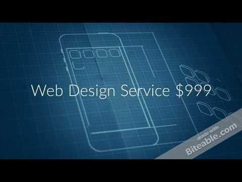 Web Design Service at $999