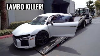 I Bought a WRECKED Audi R8 V10 Plus & I'm going to Rebuild it!