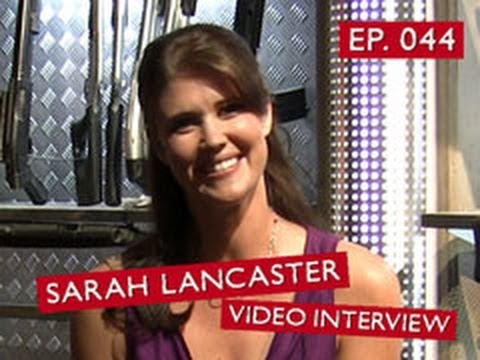 Chuck vs. the Podcast 044  Sarah Lancaster Video