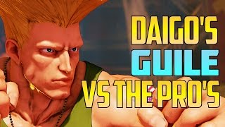 Daigo's Guile is shaping up nicely. In this compilation he's up aga...