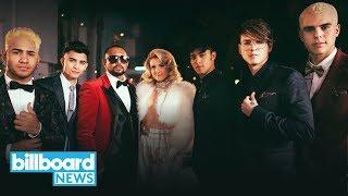 CNCO, Meghan Trainor & Sean Paul Release  for Reggaeton Jam 'Hey DJ' | Billboard News