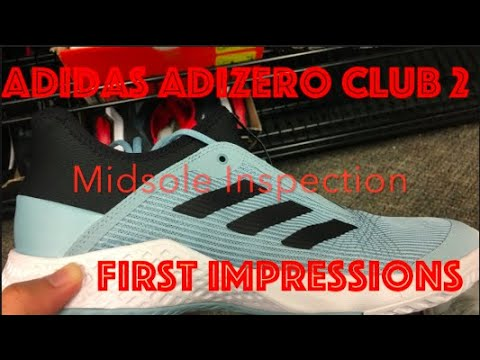 adidas-adizero-club-2-black-ash-green-mens-tennis-shoe-unboxing-plus-on-feet