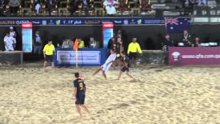 タヒチW杯へ!歓喜のビーチサッカー日本代表 アジア予選準決勝豪州戦