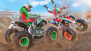 Xtreme Quad Bike Demolition Derby Racing Stunts Game
