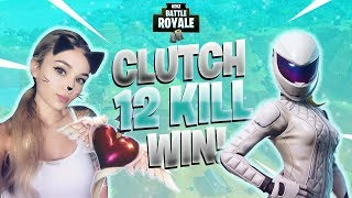 *NEW* Whiteout Skin Win! - Fortnite Battle Royale Gameplay