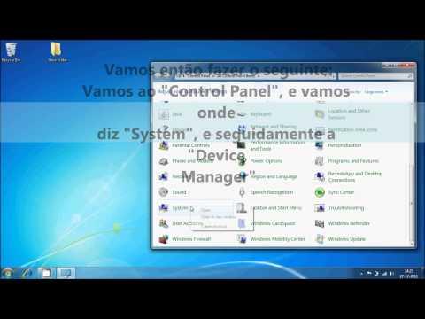 Video com Înstalação dos Driver do OPCOM, num Windows 7