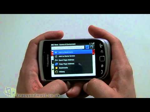 BlackBerry Torch 9810 hands-on demo