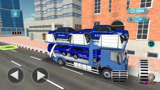 Police Plane Transporter Game || Level - Police Curiser Transporter || Best Car Parking Game