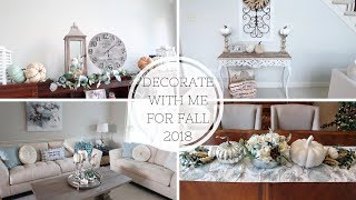 DECORATE WITH ME FALL 2018