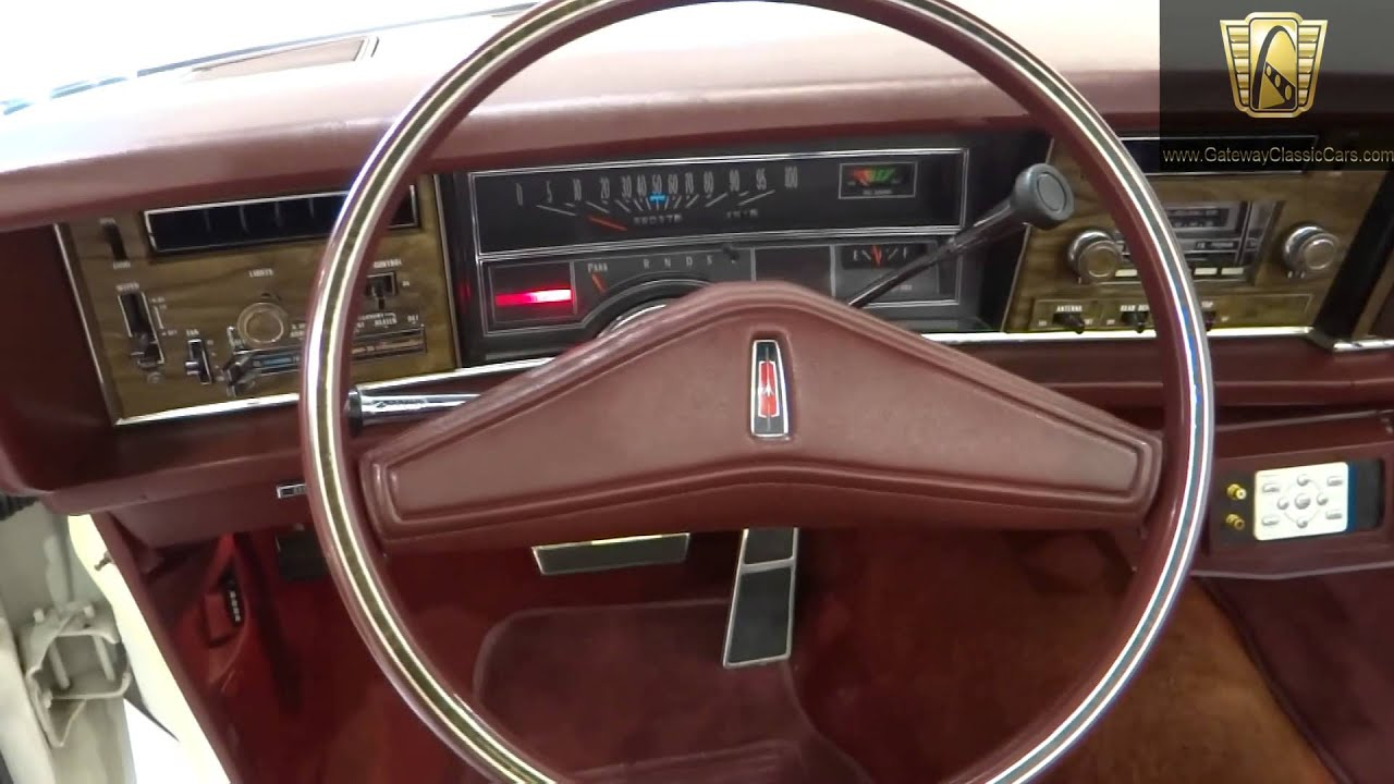 1975 oldsmobile delta 88 royale convertible 185 ndy gateway classic cars indianapolis youtube. Black Bedroom Furniture Sets. Home Design Ideas