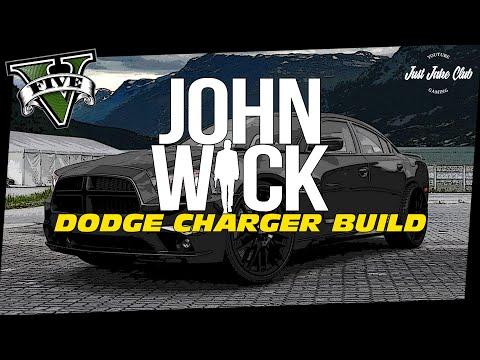 JOHN WICK DODGE CHARGER MOVIE CAR BUILD TUTORIAL: GTA V (BUFFALO S)