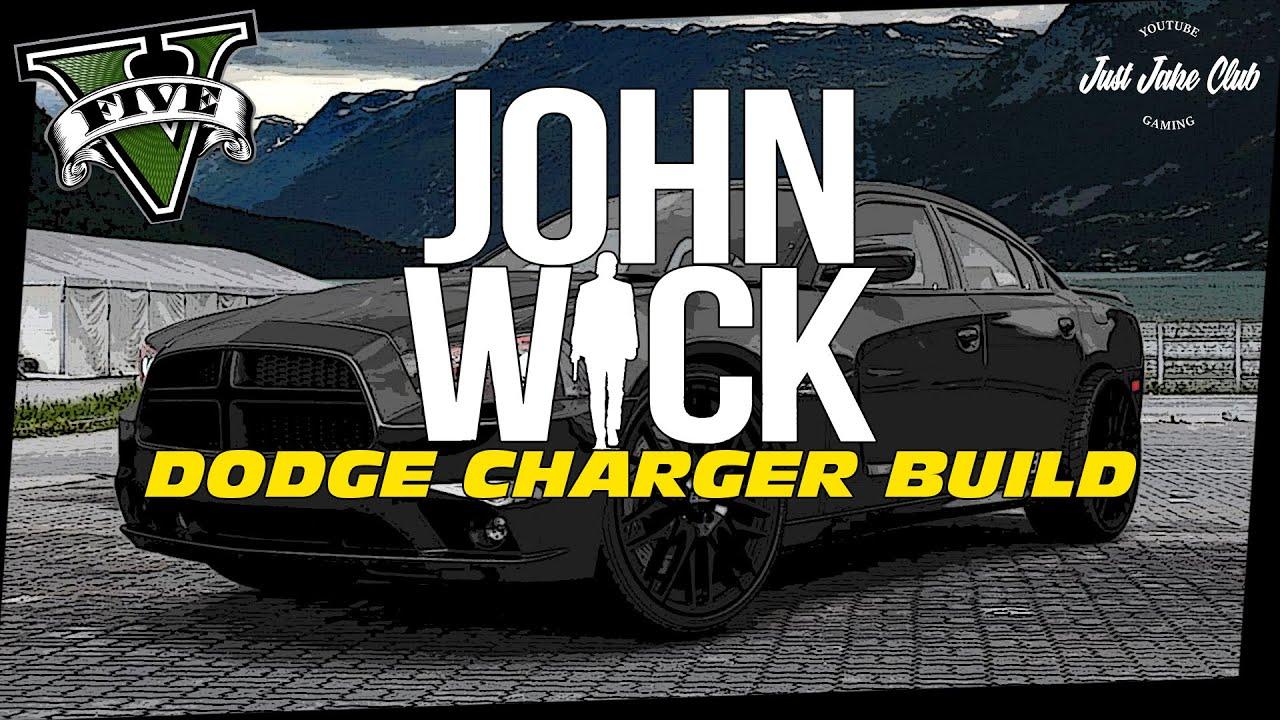 Doge Charger 2017 >> JOHN WICK DODGE CHARGER MOVIE CAR BUILD TUTORIAL: GTA V (BUFFALO S) - YouTube