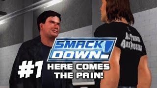 WWE SMACKDOWN! HERE COMES THE PAIN!: Season Mode - Episode 1 (The Beginning)