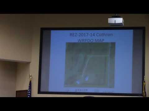 8 c. REZ-2017-14 Cothron, Tucker Rd, E-A to R-A, ~5 acres