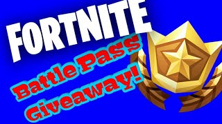 Fortnite BattlePass Verlosung / Giveaway! Saison 7 - Fortnite Battle Royale! ( deutsch / allemand )