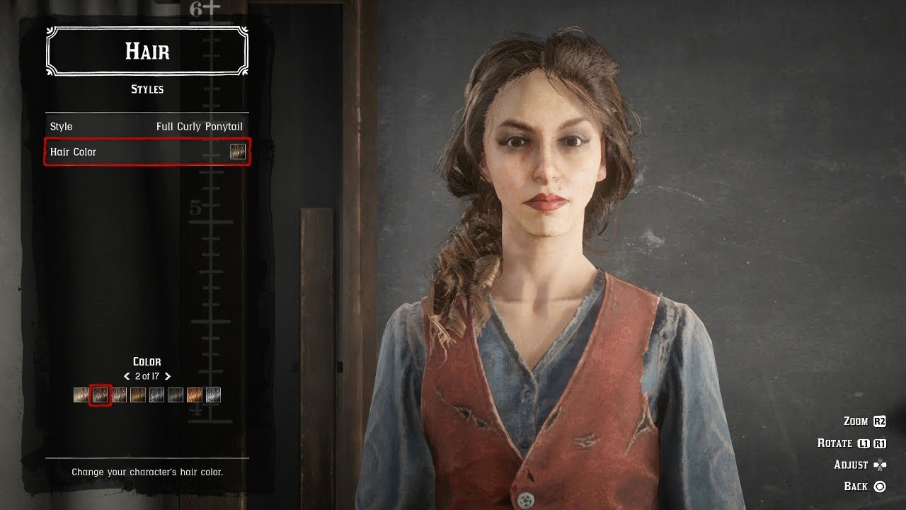 Hair Style Rdr2: Red Dead 2 Online Character Creator (Female Character