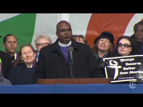 March For Life Bishop Vincent Matthews Jr.