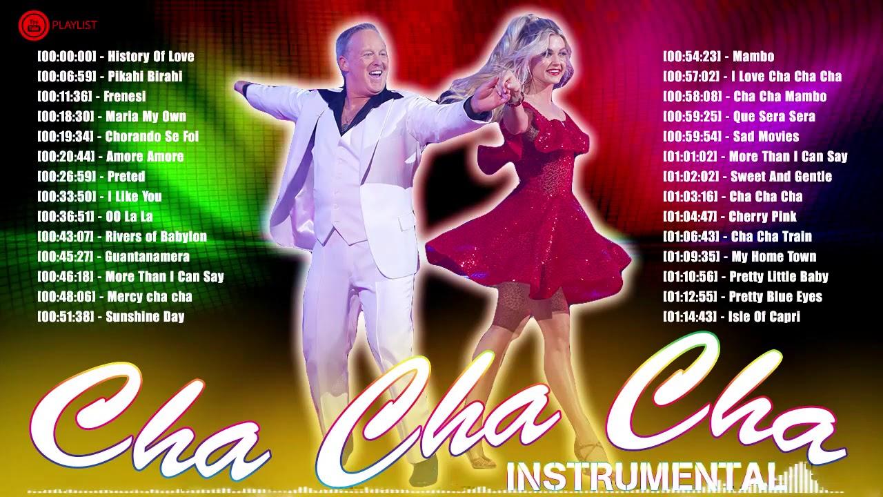 Old Latin Cha Cha Cha Dance Music Instrumental 12 Playlist   Top Latin  Mambo Salsa Cha Cha Cha