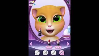 Моя Говорящая Анджела #3 Игры про котят Анжела +Том. Смотреть Анджелу