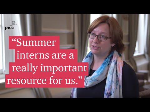 PwC's 2017 Summer Internship highlights