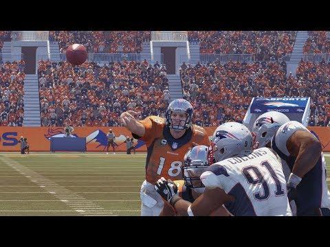 Denver Broncos vs New England Patriots - AFC Championship Game 2014 - Madden 25 (PS4)