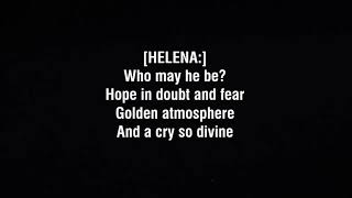 """""""Bring Her Home"""" - THERION - Lyrics"""