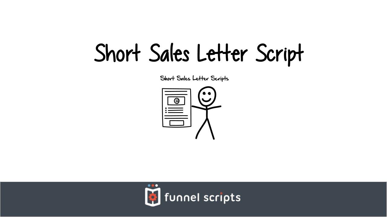 Short sales letter script funnelscripts youtube short sales letter script funnelscripts thecheapjerseys Gallery