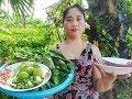 Tasty! Cute Girl Cook Fish BROHOK - Traditional Khmer Dessert