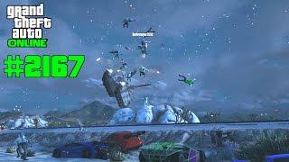 GTA 5 ONLINE Panzer vs Rampenfahrzeug #2167 Let`s Play GTA V Online PS4 2K