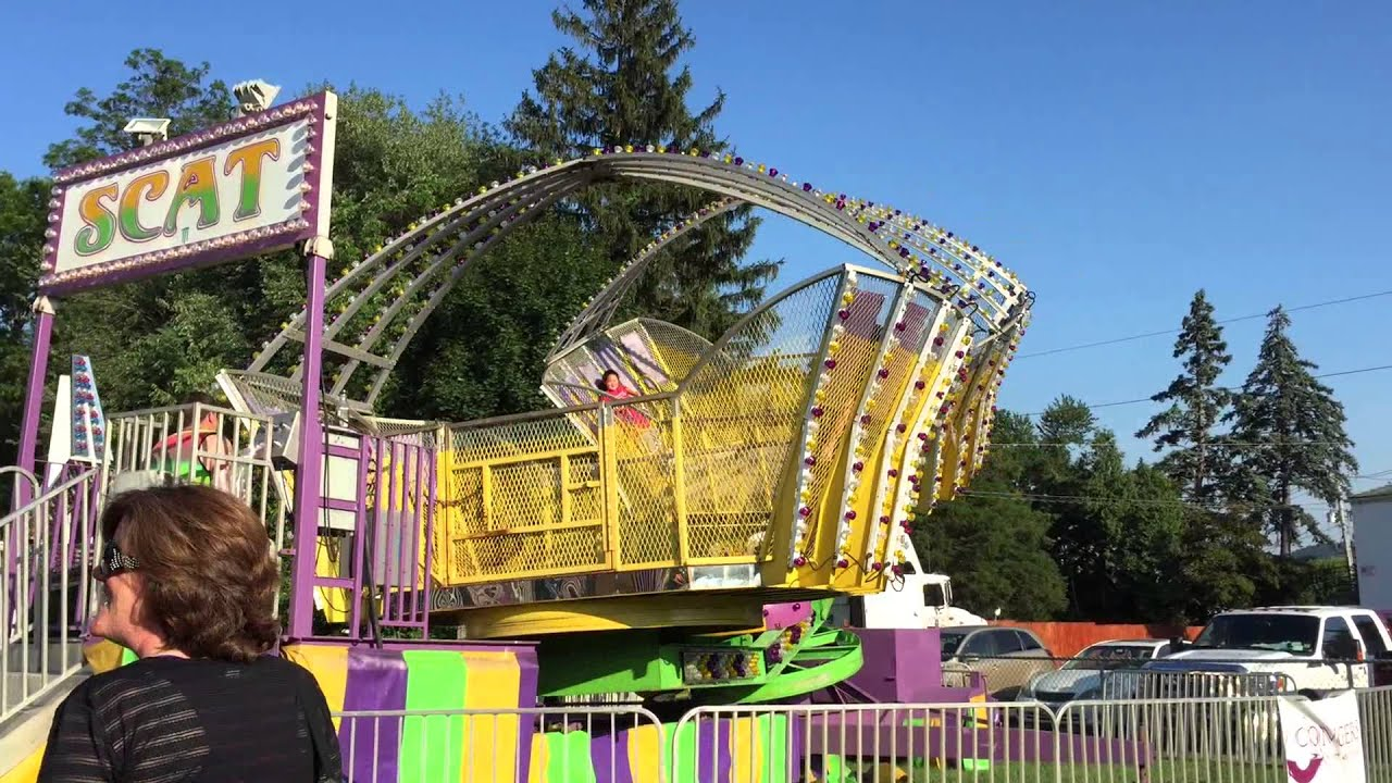 The Ride at The Congers Carnival 2015 - YouTube