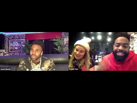 Freddy Mac and Natalie talk with Q102 Artist, Jason Derulo