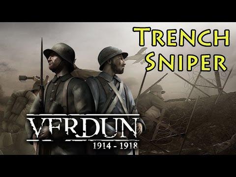 Trench Sniper World War 1 - Verdun