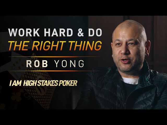 Rob Yong on Working Hard and Doing the Right Thing