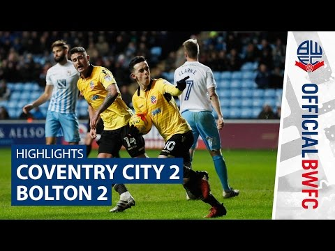 HIGHLIGHTS   Coventry City 2-2 Bolton