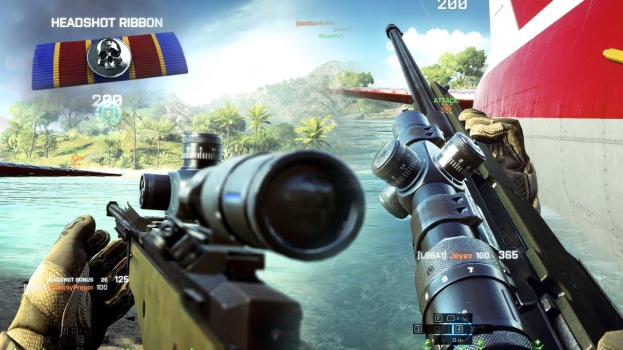 Battlefield 4: Sniper Defense - Lost Islands