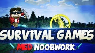 Norsk Minecraft - Survival games med Noobwork | DAT INTRO!