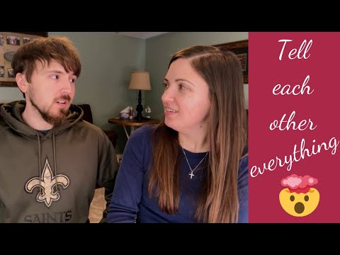 Tell Each Other Everything!