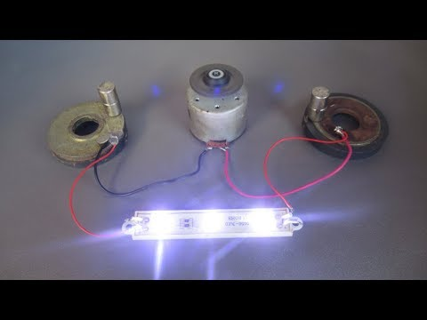 How to make Free energy generator with magnets - Homemade 2018